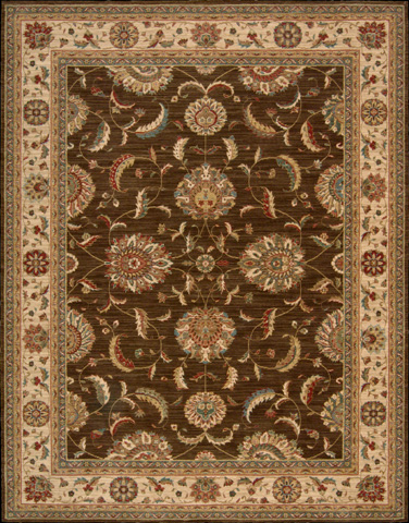 Nourison Industries, Inc. - Brown Rectangle Rug - 99446668219