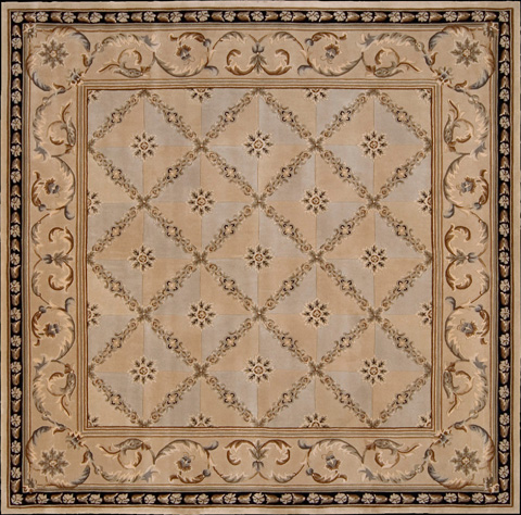 Nourison Industries, Inc. - Beige Square Rug - 99446781109