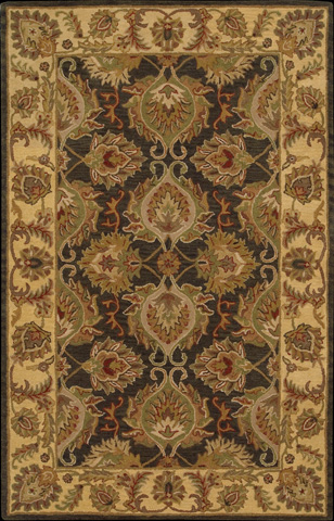 Nourison Industries, Inc. - Green Rectangle Rug - 99446802958