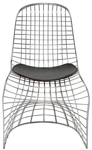 Nuevo - Swerve Dining Chair - HGQM121