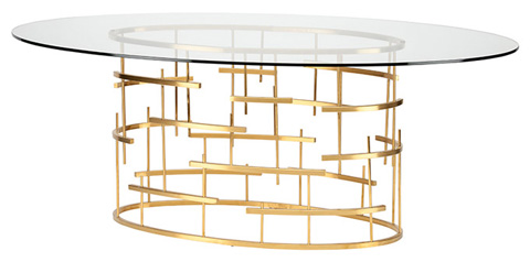 Nuevo - Tiffany Oval Dining Table - HGSX218