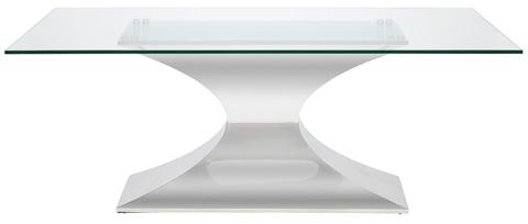 Nuevo - Praetorian Glass Dining Table - HGSX222