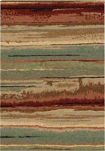 Image of Wild Weave Dusk to Dawn Rug in Multi