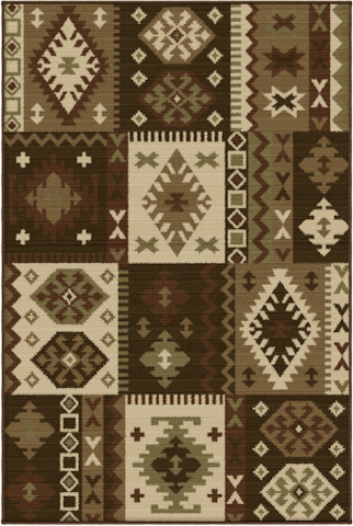 Image of Anthology San Leon Rug in Multi
