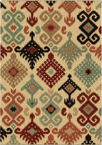 Image of Wild Weave Chandra Rug in Bisque