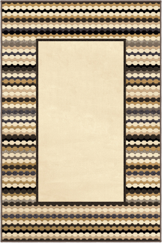 Image of Nuance Newport Border Rug in Lambswool