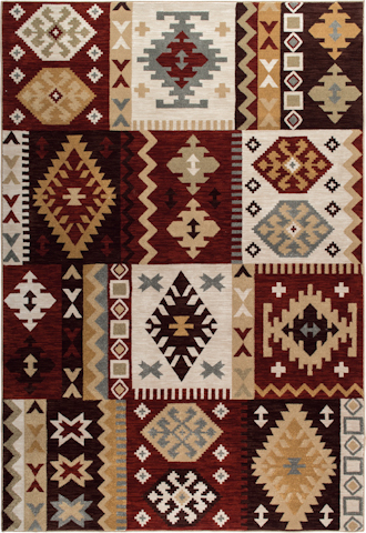 Image of Harmony Sante Fe Rug in Multi