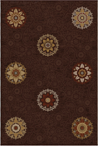 Image of Harmony Arcadia Rug in Brown