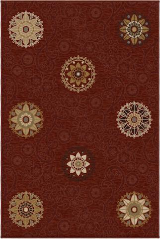 Image of Harmony Arcadia Rug in Cinnabar