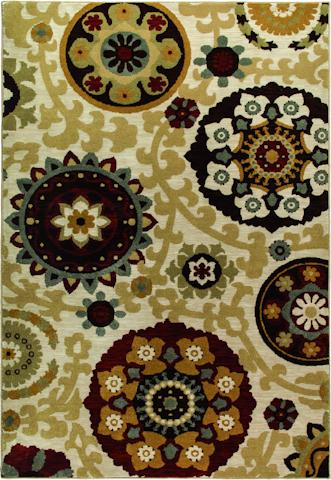 Image of Harmony Morocco Rug in Khaki
