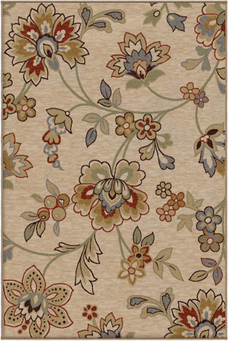 Image of Harmony Margeaux Rug in Khaki
