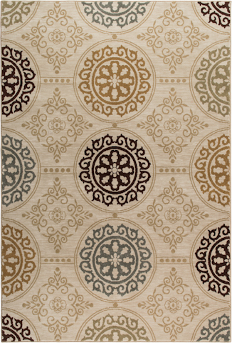 Orian Rugs - Harmony Mazarin Rug in Khaki - 2219