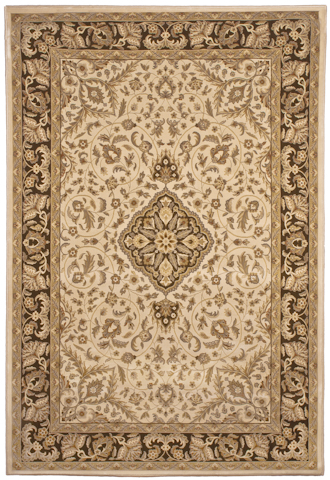 Image of American Heirloom Avalon Rug in Bisque