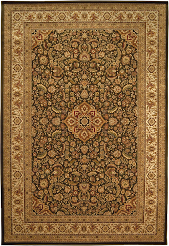 Image of American Heirloom Bellagio Rug in Chocolate