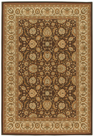 Image of American Heirloom Farran Rug in Chocolate