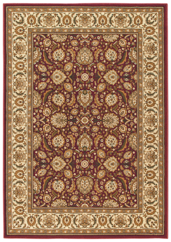 Image of American Heirloom Farran Rug in Claret
