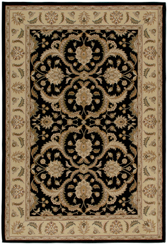 Image of American Heirloom Hilary Rug in Black