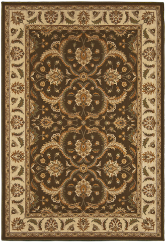 Image of American Heirloom Hilary Rug in Chocolate