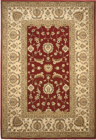 Image of American Heirloom Osman Rug in Claret
