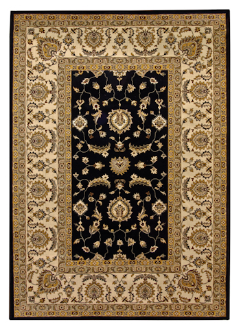 Image of American Heirloom Osman Rug in Onyx