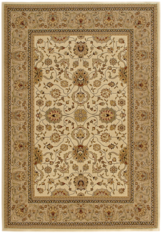 Image of American Heirloom Serapi Rug in Linen