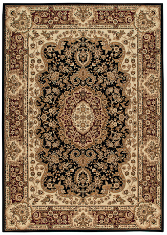 Image of American Heirloom Walbridge Rug in Black