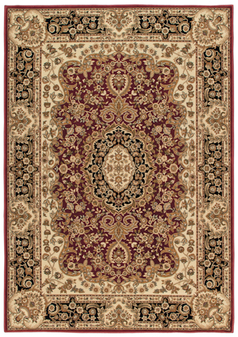 Image of American Heirloom Walbridge Rug in Claret