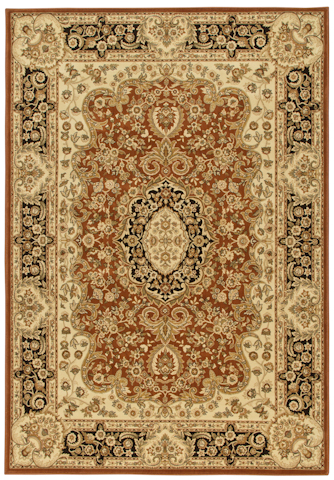 Image of American Heirloom Walbridge Rug in Leather