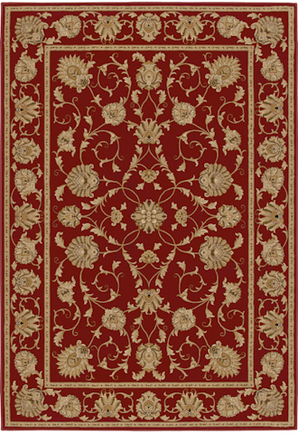 Image of American Heirloom Westbury Rug in Claret