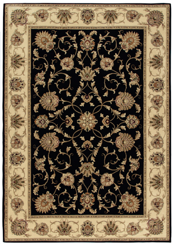 Image of American Heirloom Westbury Rug in Black