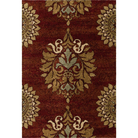 Orian Rugs - Jacqueline Rouge 5'3