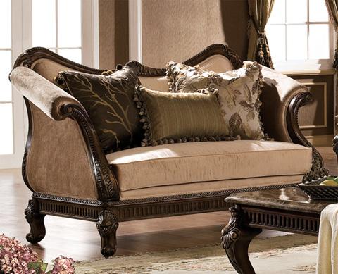 Orleans International - Venice Upholstered Loveseat - 4902-002