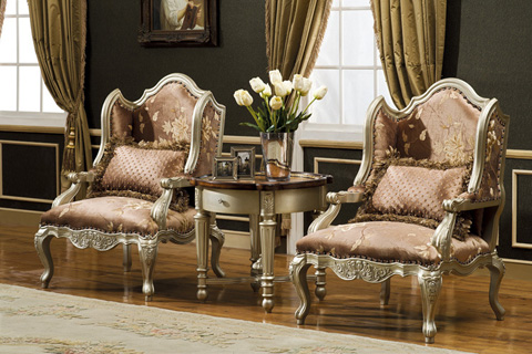 Orleans International - Occassional Accent Chair - 4911-001N
