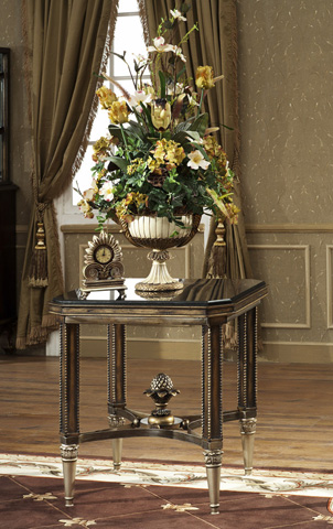 Orleans International - End Table With Granite Top - 4917-008