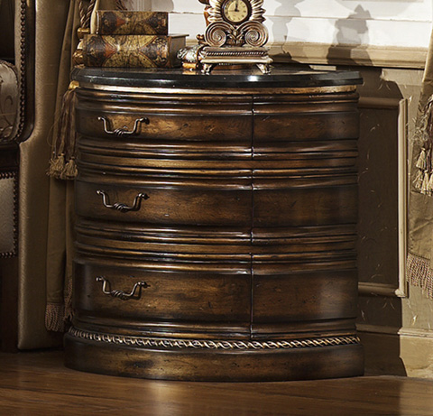 Image of Paris Nightstand with Granite Top