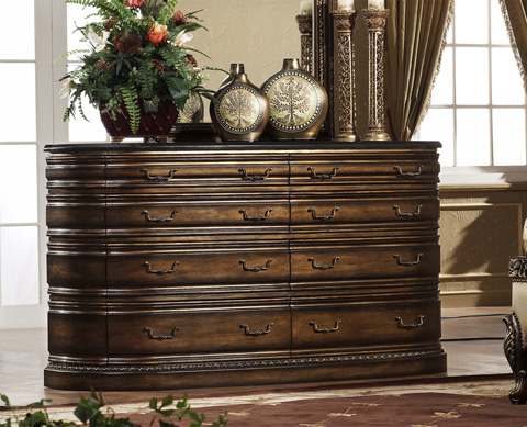 Image of Paris Dresser with Granite Top
