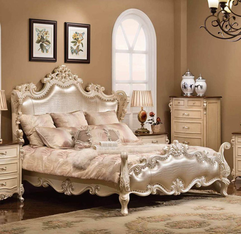 Image of Caesar Queen Bed