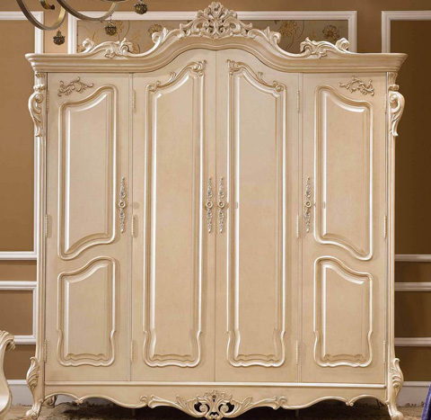 Orleans International - Caesar Four Door Armoire - 1139-015
