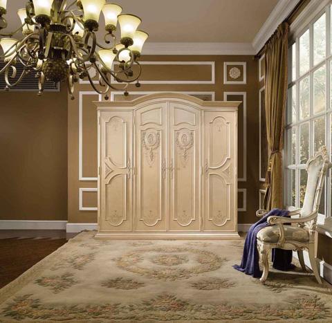 Orleans International - Cleopatra Four Door Armoire - 1179-015