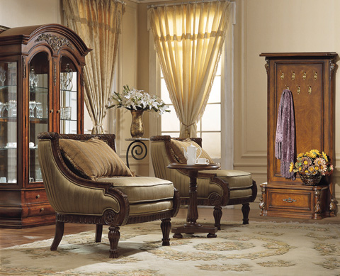 Orleans International - Occasional Chair - 4391