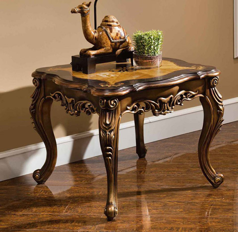 Image of Basillica End Table