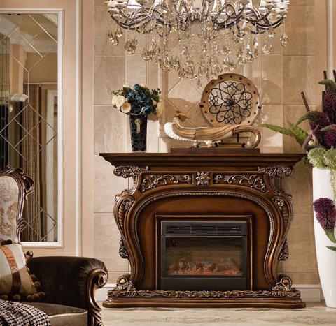 Image of Barivia Fireplace Mantle