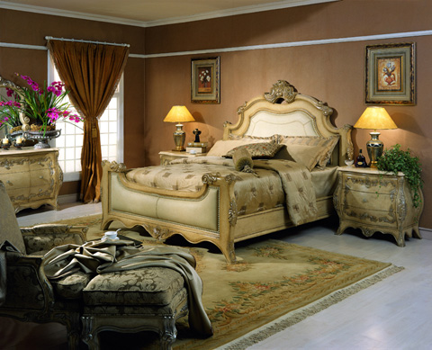 Orleans International - Chateau Queen Bed - 959-001Q