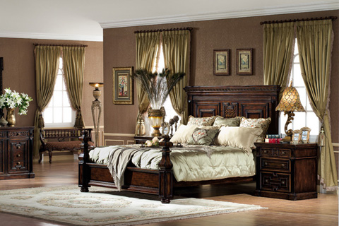 Image of Madrid Bed in King