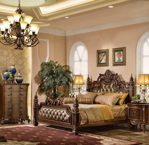 Orleans International - Majestic Bed in King - 1099-001NE