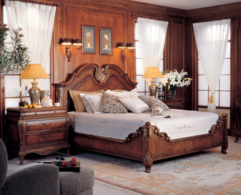 Image of Valois Bed in King