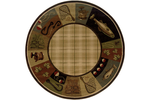 Oriental Weavers - Rug - 1065B ROUND