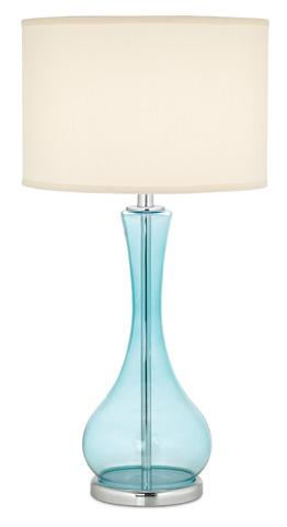 Pacific Coast Lighting - Blue Martini Table Lamp - 87-1667-64