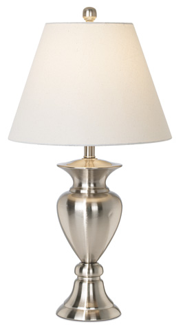 Pacific Coast Lighting - Royal Grace Table Lamp in Steel - 87-6348-99