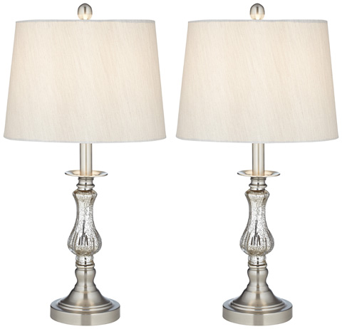 Pacific Coast Lighting - Mercure Glass Table Lamps, Two Pack - 87-151-26